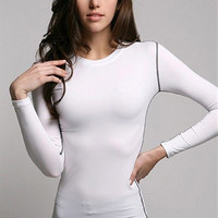 Women's Sports Compression Running/Cycling Top