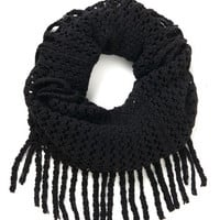 ModCloth What Glows Around Scarf in Black