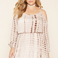 Plus Size Tie-Dye Dress | Forever 21 PLUS - 2000186823