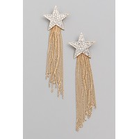 Astrological Star Earrings