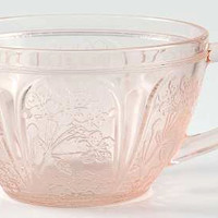 Jeannette Cherry Blossom Cup with Handle