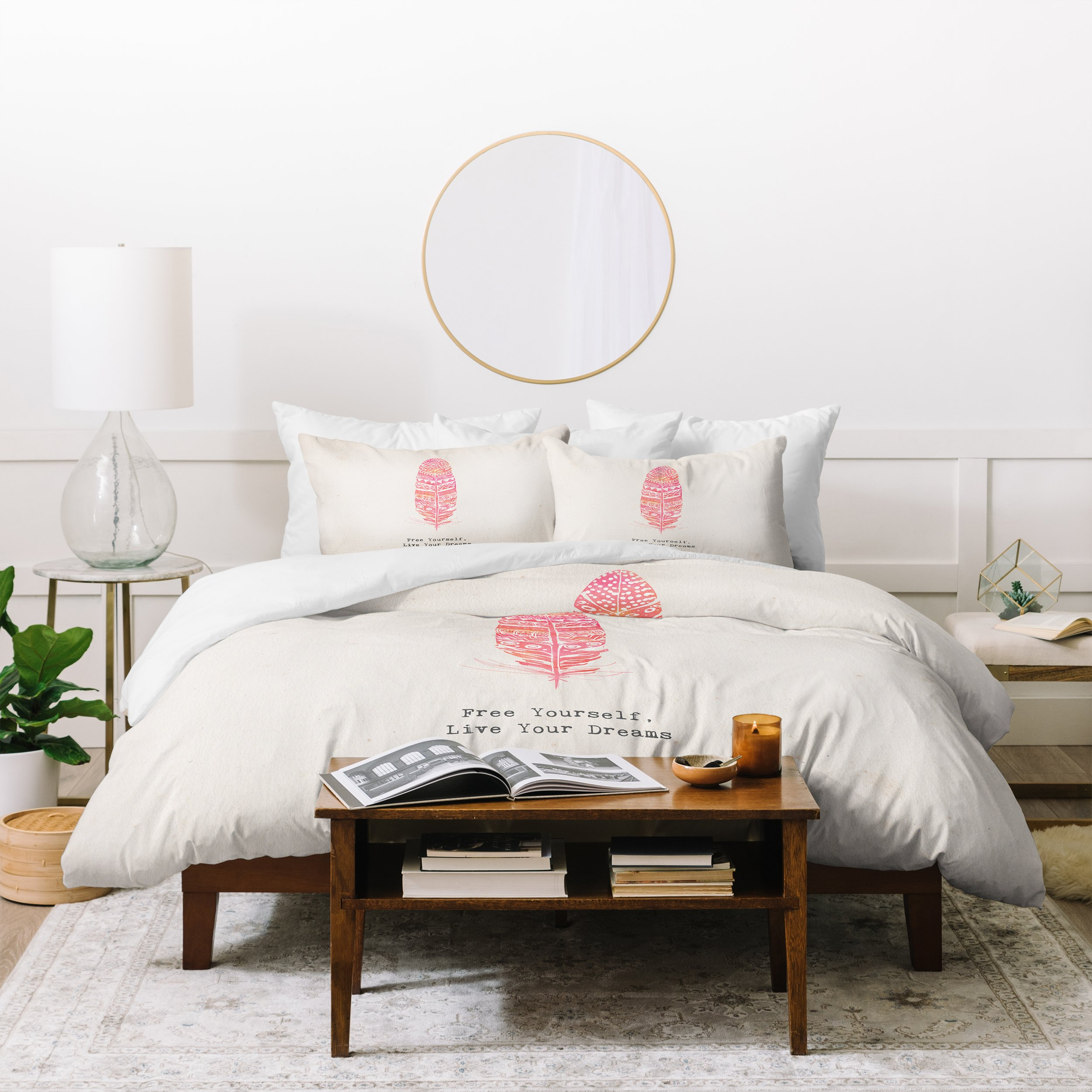 Image of Kangarui Free Yourself Feather Duvet Cover