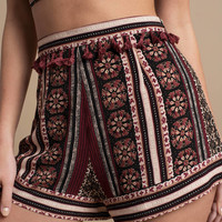 Rise To Power Aztec Print Shorts