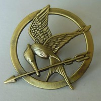 Movie The Hunger Games Bird Brooch Pin Badge Classic Film Party Gift Kids Fans Christmas