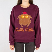 Turkey Head Thanksgiving Sweatshirt