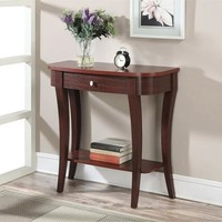 Convenience Concepts Newport Entryway Console Table, Multiple Finishes - Walmart.com