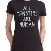 American Horror Story All Monsters Are Human Girls T-Shirt
