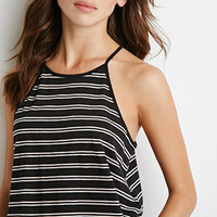 Striped Halter Cami