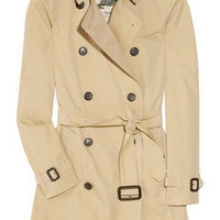 Burberry London | Cotton-gabardine trench coat | NET-A-PORTER.COM