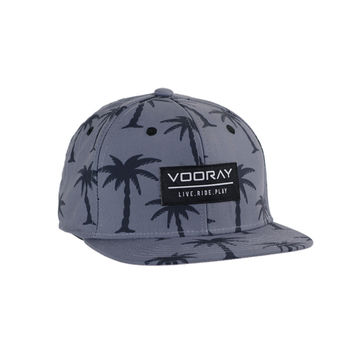 Vooray Palmer Snapback Hat Charcoal