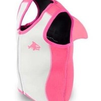 Sea Squirts SS3 Vest with Shark Fin - Large Pink:Amazon:Toys & Games