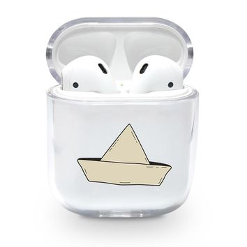 Floating Boat Airpods Case