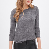 LOVE 21 Ribbed Knit Thermal