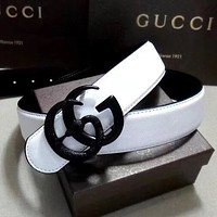 """Gucci"" Fashion Women Men Retro Leather Belt"
