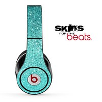 Aqua Green Tiled V4 Skin for the Beats by Dre Solo, Studio, Wireless, Pro or Mixr