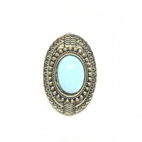 Tempted Turquoise Ring