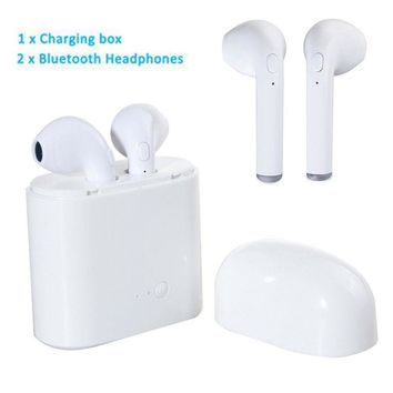 2Pc for Apple Air pods In-ear Wireless Bluetooth Headphones Headsets+Charger Box
