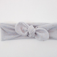 Baby Toddler Headband Children's Bow Head Wrap Top Knot Style