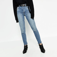 HIGH RISE STRAIGHT CUT JEANS Look+: 2 of 4
