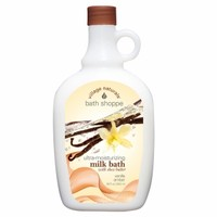 Village Naturals Bath Shoppe Ultra Moisturizing Foaming Milk Bath, Vanilla Amber