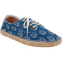 Old Navy Womens Patterned Lace Up Espadrilles