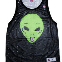 WE OUT HERE BASKETBALL JERSEY