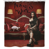 Motionless In White Shower Curtain