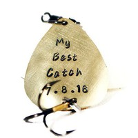 My Best Catch Custom Personalized Fishing Lure.