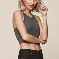 Me To We Scoop Neck Cropped Tank Top at PacSun.com