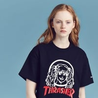 Aymmy in the Batty Girls Thrasher Aymmy Face T-shirt - Tops - Categories - Womens