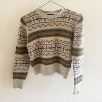 Cropped Sweater Vintage M