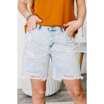 Lets Keep Things Casual Bermuda Shorts