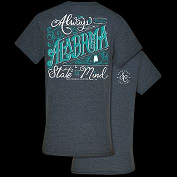 Southern Couture Classic Collection Alabama State Of Mind T-Shirt