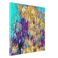Coral Wave Canvas Print