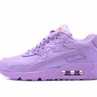 spbest Nike Womens Air Max 90 QS Paris  Macaroon