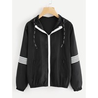 Girls Just Want To Have Fun Jacket - Black