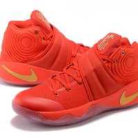 Nike Kyrie Irving 2 Red/Gold Basketball Shoe