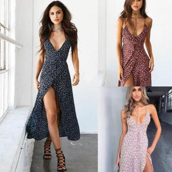 Sexy Women's Boho Long Maxi Dress