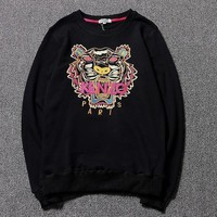 Kenzo Women Man Fashion Sport Casual Top Sweater Pullover-4