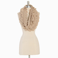 robin ruffles infinity scarf - $21.99 : ShopRuche.com, Vintage Inspired Clothing, Affordable Clothes, Eco friendly Fashion