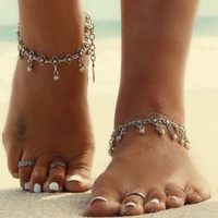 Silver Ankle Chain anklet