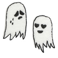CHENEILLE GHOST PATCH PAIR