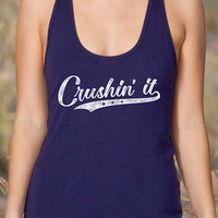 Crushin' It | Women's Racerback Tank Top
