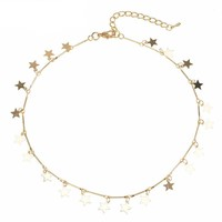 Star Sucker Choker Necklace