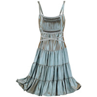 Iridescent Copper Dress - New Age, Spiritual Gifts, Yoga, Wicca, Gothic, Reiki, Celtic, Crystal, Tarot at Pyramid Collection