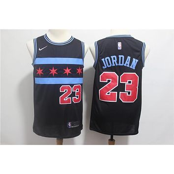 Men's Nike Black Chicago Bulls Michael Jordan 2018/19 Swingman Jersey - City Edition - Best Deal Online