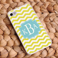 Personalized Chevron iphone covers - Breezy Sunshine 4