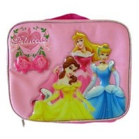 Lunch Bag With Bottle - Princess & Rose