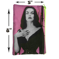 Vampira Makeup Bag - School Supply Pouch
