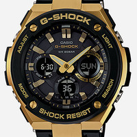 G-Shock Gsts100g-1A Watch Black/Gold One Size For Men 27023977401